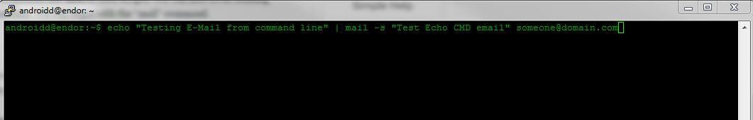 email-command-line-echo